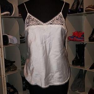 Body Lites white cami slip top size 36